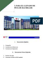 Guía de Carpeta de Bachiller (1)