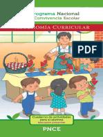 Autonomía Curricular Preescolar