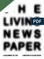The Living Newspaper Final PDF