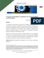 Aportes epistemológicos y pragmáticos de la interseccionalidad y la descolonialidad