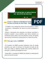 Sistema de Avaliação de rendimento São Paulo