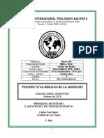 PerspBibldelaMISSIODEI. Manual de Estudio Carlos Van Engen