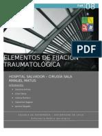 ELEMENTOS DE FIJACIÓN TRAUMATOLÓGICA FINAL