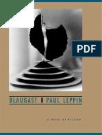 Blaugast a Novel of Decline