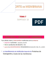 TEMA 7 CAP 12 Transporte de Membrana(1)