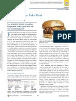A Fresh Take on Fake Meat