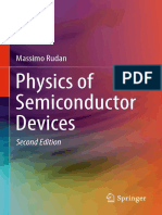 Rudan, Massimo-physics of Semiconductor Devices-springer International Pu (2017)