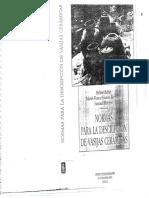 Balfet,Et Al_ Normas Para La Descripción de Vasijas Cerámicas