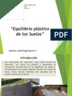 Equilibrio Plastico de Los Suelos - Adalid Espinoza