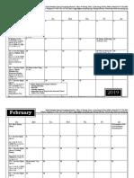 2019 Music and Worship Planning Calendar YearCtoYear A