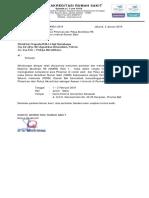 Surat Edar Ws. Asesor Internal RS _ KARS-PERSI Bali - Hotel Harris Denpasar 1-2 Febr 2019