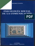 Cuesta Ubaldo - Psicologia Social de La Comunicacion Ocr Ok