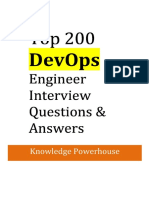 Devops Exp Interview Questions