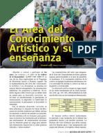 Área Conocimiento Artístico