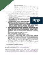 Soal Kuis Periodonsia 1 2014