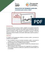 Programa Educativo de Primeros Auxilios