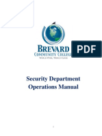 Campus Security Operations Manual