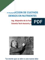 Produccion de Cultivos Densos en Nutrientes