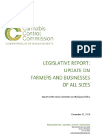 Legislative Report - Updated Farmers and Businesses of All Sizes