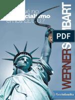 Por Que No Hay Socialismo en Los Estados Unidos - Werner Sombart