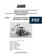 CASE 580 Super M+ Series 2 Backhoe Loader Parts Catalogue Manual.pdf