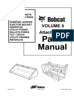 Bobcat Buckets, Rakes, Diggers, Grapples, Utility Forks, Pallet Forks, Tilt-Tatch, Utility Frames, Weighlog Attachments Parts Catalogue Manual.pdf