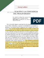 La Cosificacion y La Consciencia Del Proletariado (2)