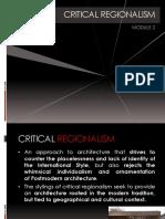 14 Critical Regionalism