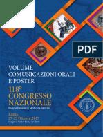 SIMI_Volume Comunicazioni Orali e Poster