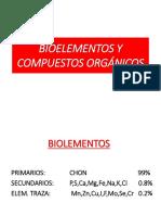 Bioelementos y Compuestos Organicos Editado Actualizado
