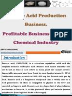 Benzoic Acid Production Business