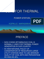 Coal for Thermal Power Plant