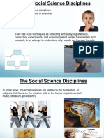 5 the Social Science Disciplines Online