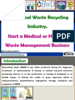 Biomedical Waste Recycling Industry