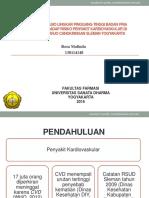 Hubungan Rasio Lingkar Pinggang-tinggi Badan Pria Dewasa Terhadap Risiko Penyakit Kardiovaskular Di Desa Kepuharjo Cangkringan Sleman Yogyakarta