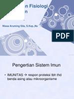 Anatomi Fisiologi Sistem Imun