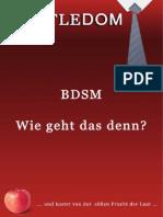 Bdsm Wie Geht Das Denn