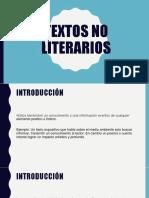 Tipos de Textos e Informe Tecnico