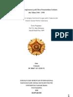 SSPI - Fenomena Konglomerasi Di Era Soeharto