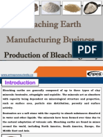 Bleaching Earth Manufacturing Business