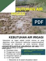 25225_Irigasi Bangunan Air-3a Faktor Kebutuhan Air Irigasi