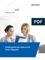 Employment law news in the Czech Republic | News Flash