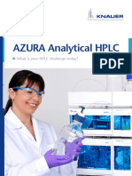 b e AZURA Analytical HPLC V7852US