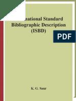 [Series on Bibliographic Control] IFLA - ISBD International Standard Bibliographic Description (Series on Bibliographic Control) (2007, Walter de Gruyter).pdf
