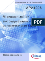 EMC Design Guidelines for Microcontroler Board Layout