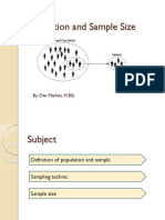 2. Population and Sample Size