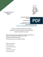 Examen Oral Museo Nacional de Las Culturas Del Mundo Semestre 2019-1