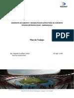 INSERINT - Desmonte y Rehabilitación Estadio Metropolitano - Plan de Trabajo