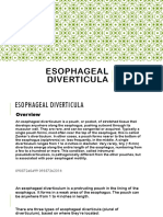 Esophageal diverticula.pptx