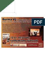 Burma Democratic Concern Deutschland -Burma Büro Deutschland Burma Talk Cologne